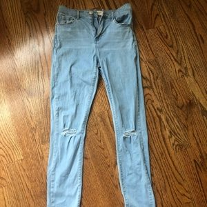 PacSun Super High Rise Skinniest 25 Jeans